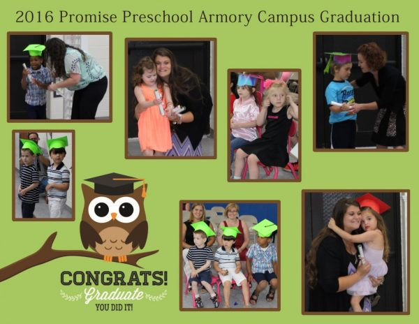 Congratulations to the 2016 Promise Preschool Graduates!