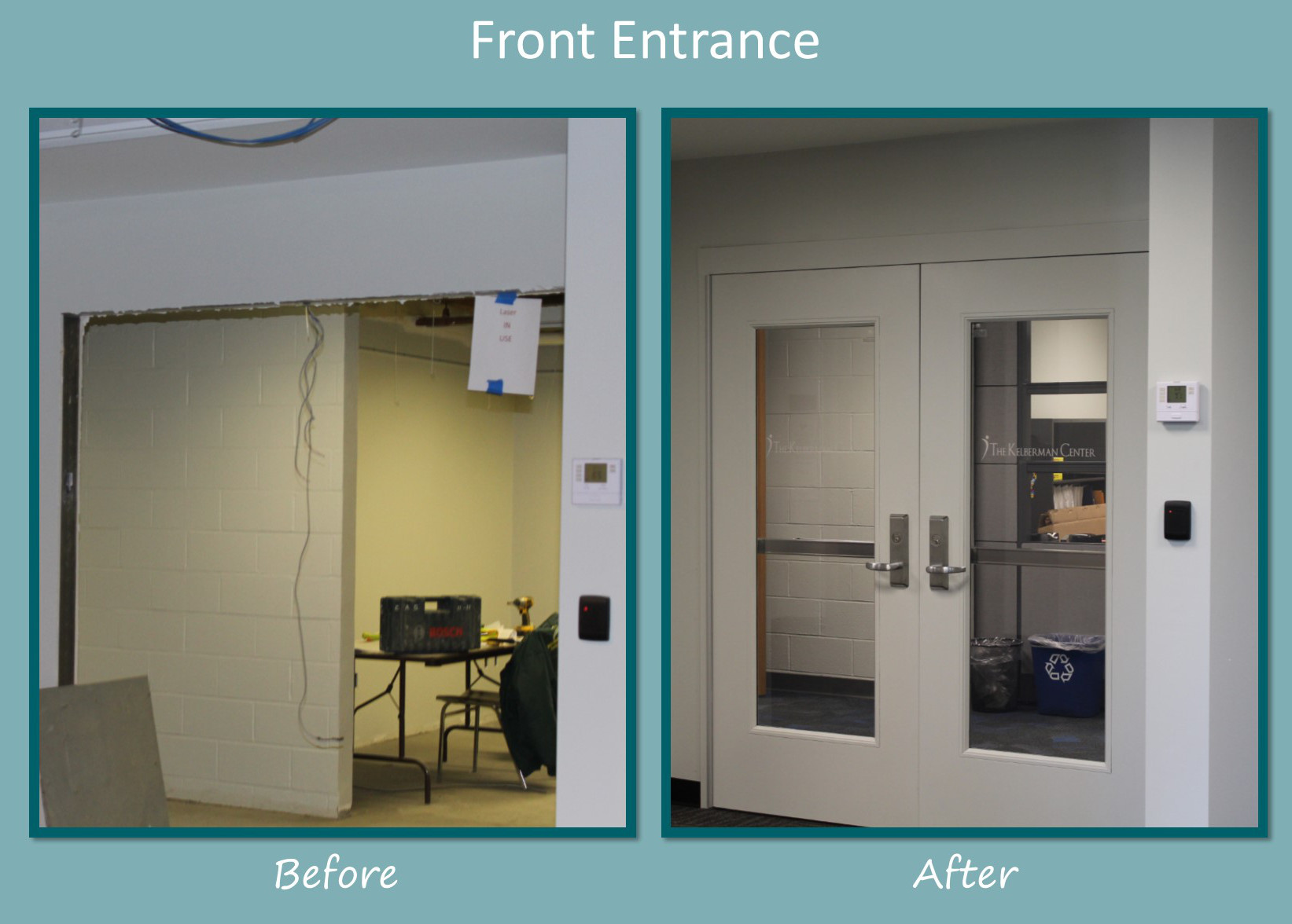 Before and After – See Our New Office and Clinic Space!