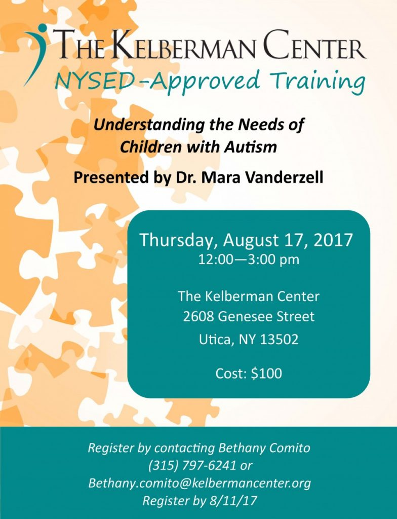 NYSED Autism Training