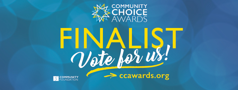 Vote for us in the Community Choice Awards!
