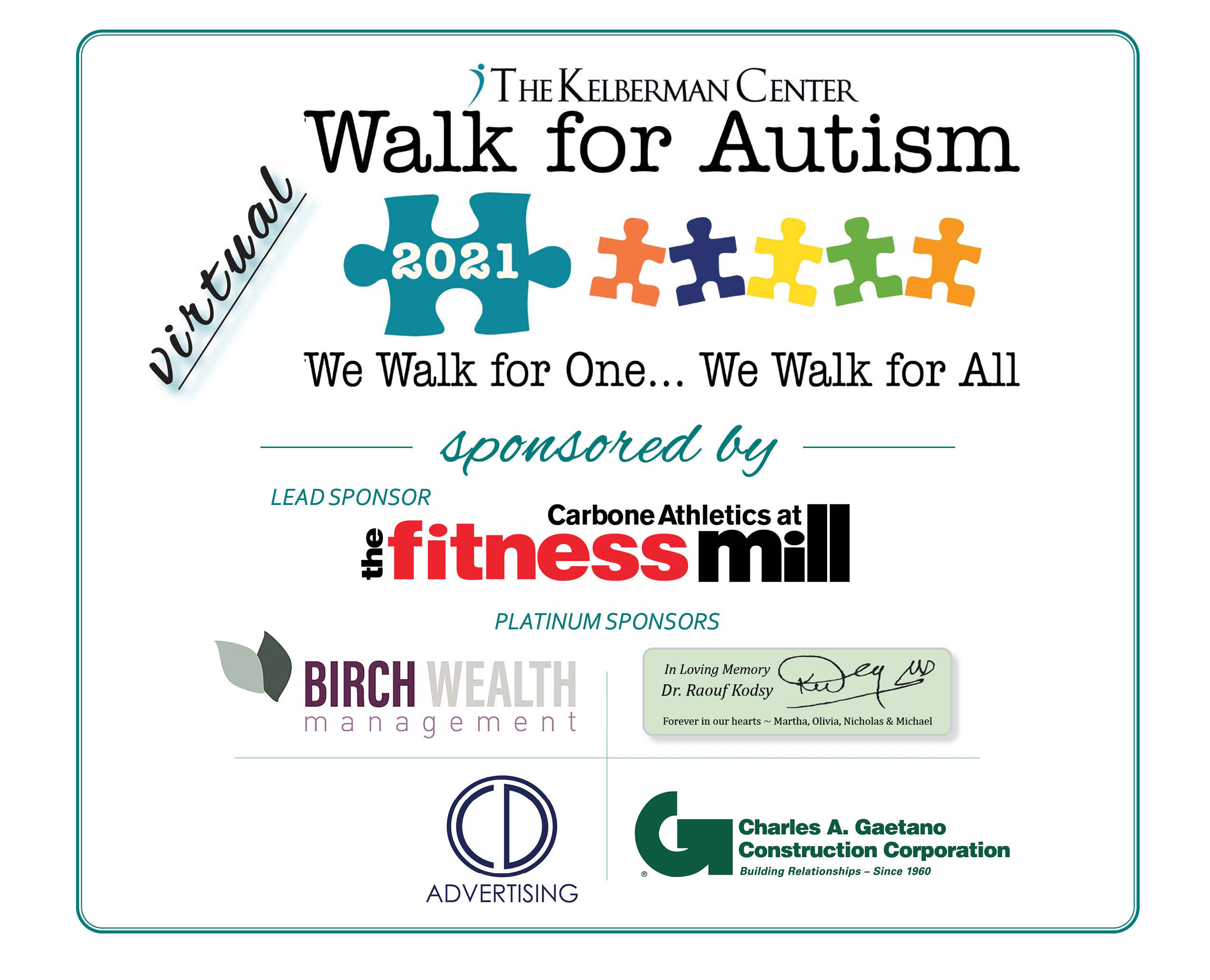 Support The Kelberman Center During Autism Awareness Month!